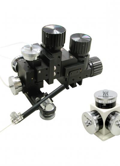 Three-Axis Water Hydraulic Fine Micromanipulator (MHW-3)